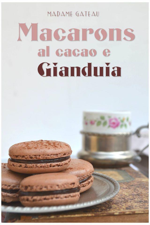 Macaron Cacao e Gianduia