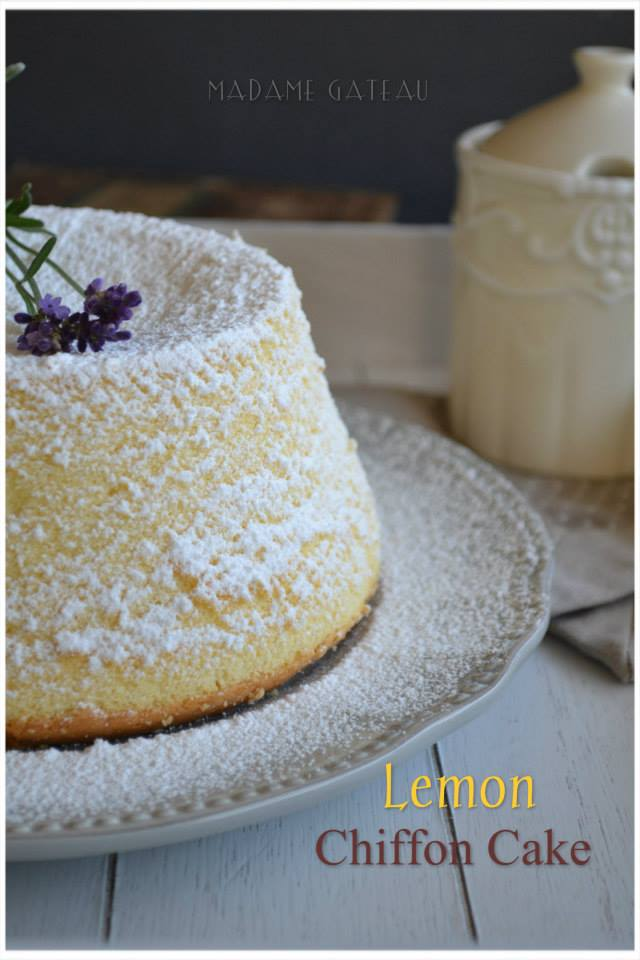 Torta limone, Chiffon Cake