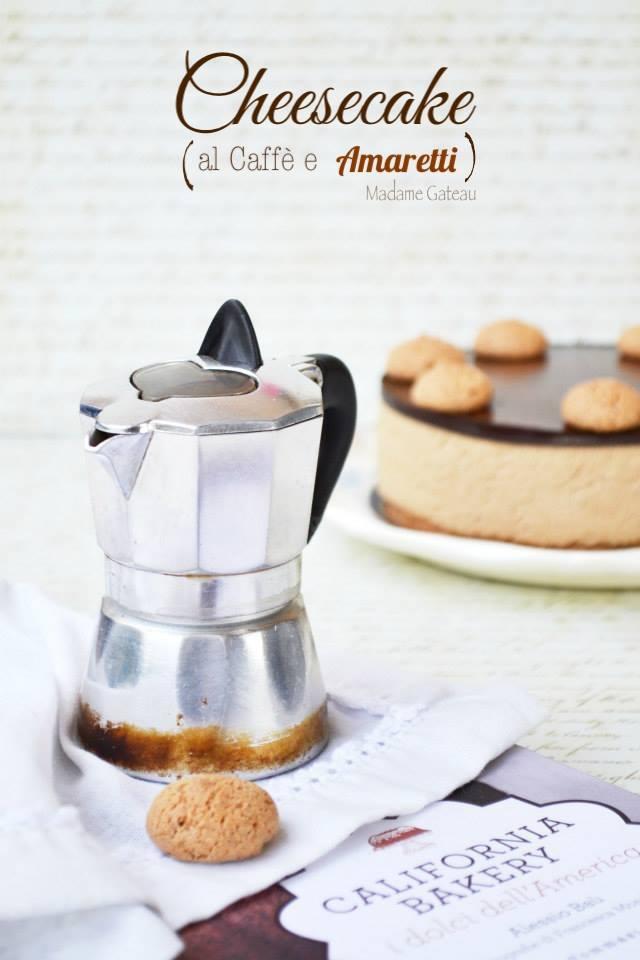 Cheese Cake al caffè e amaretti