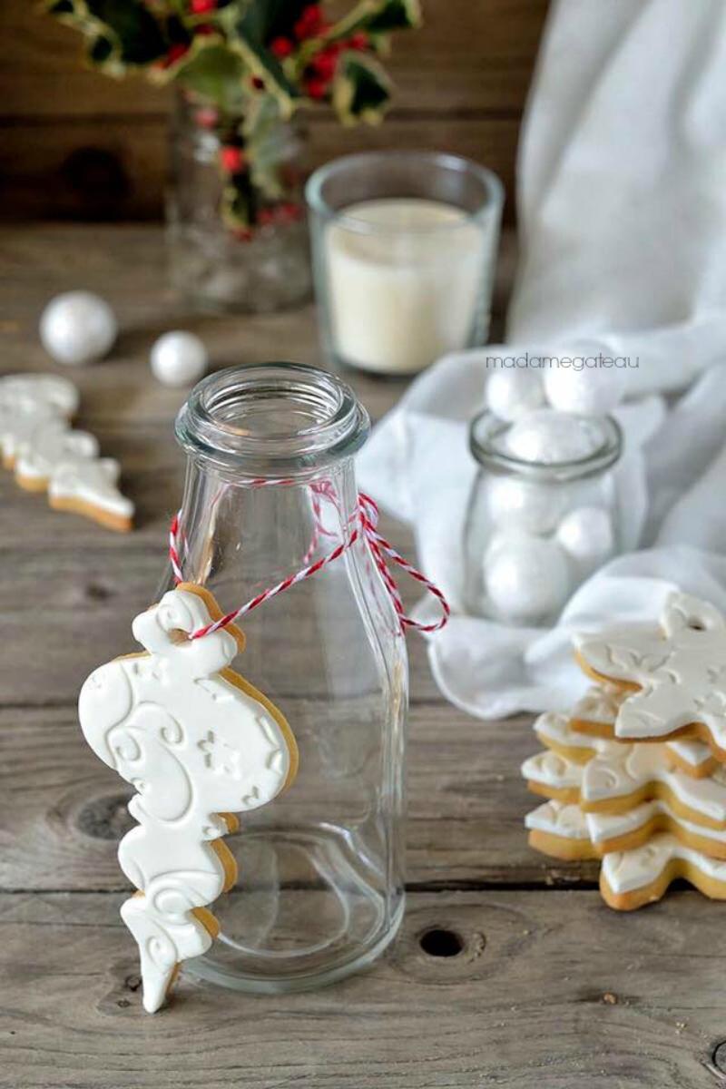 Biscotti Natale Pasta Di Zucchero.Biscotti Di Natale Alla Vaniglia