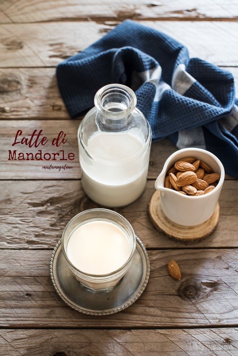 latte di mandorle